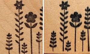 Misma madera, mismo sello, tintas diferentes