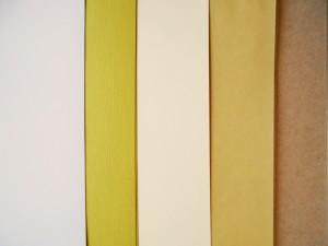Papel brillante, cartulina con textura, papel liso estándar, vegetal y kraft