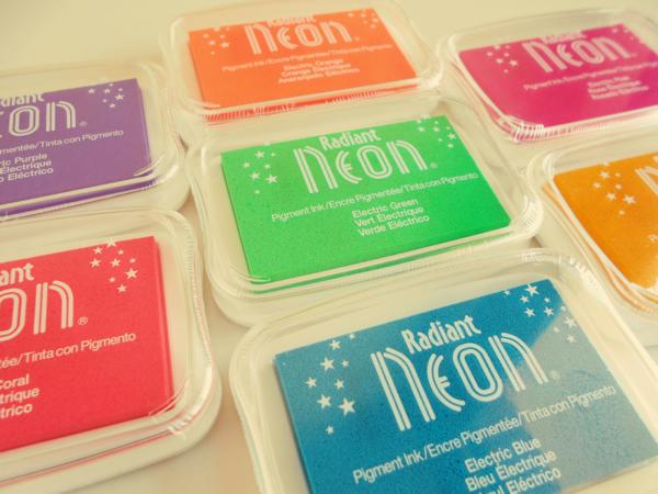 Tintas Radiant Neon Tsukineko