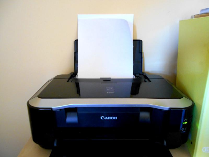 Paper Freezer con tela para imprimir