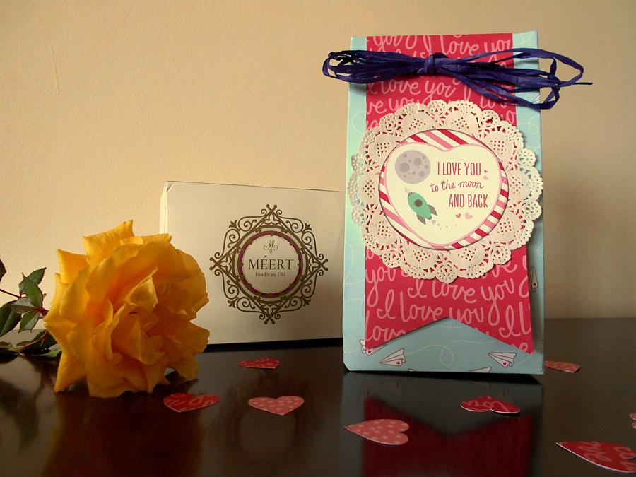 Bolsa regalo para San Valentín