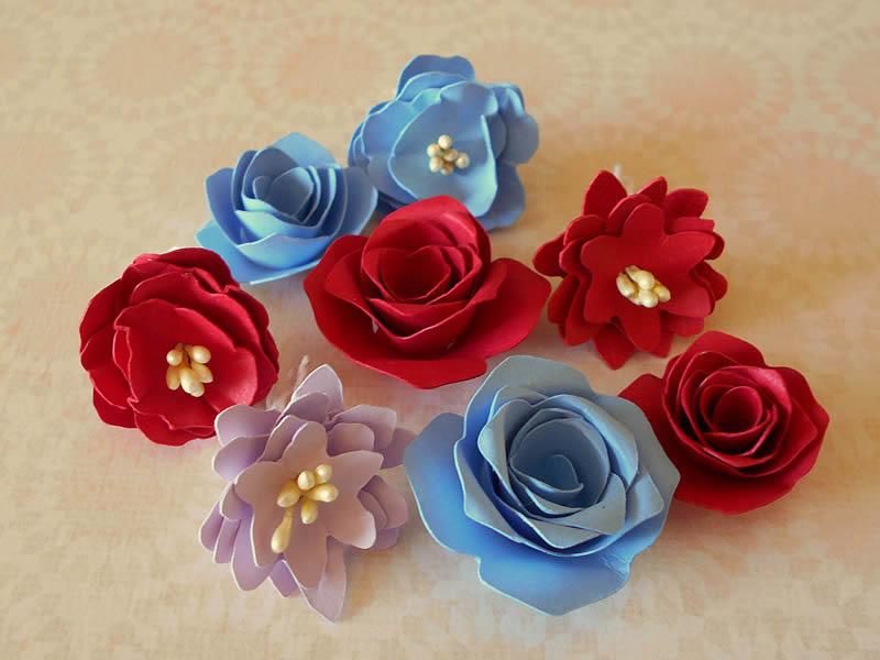 flores tridimensional