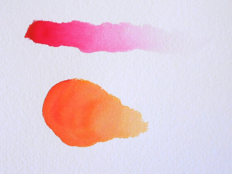 efecto acuarela rotuladores clean color