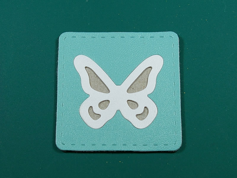 Mariposa insertada